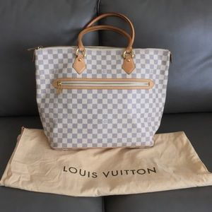 Louis Vuitton Saleya GM azur